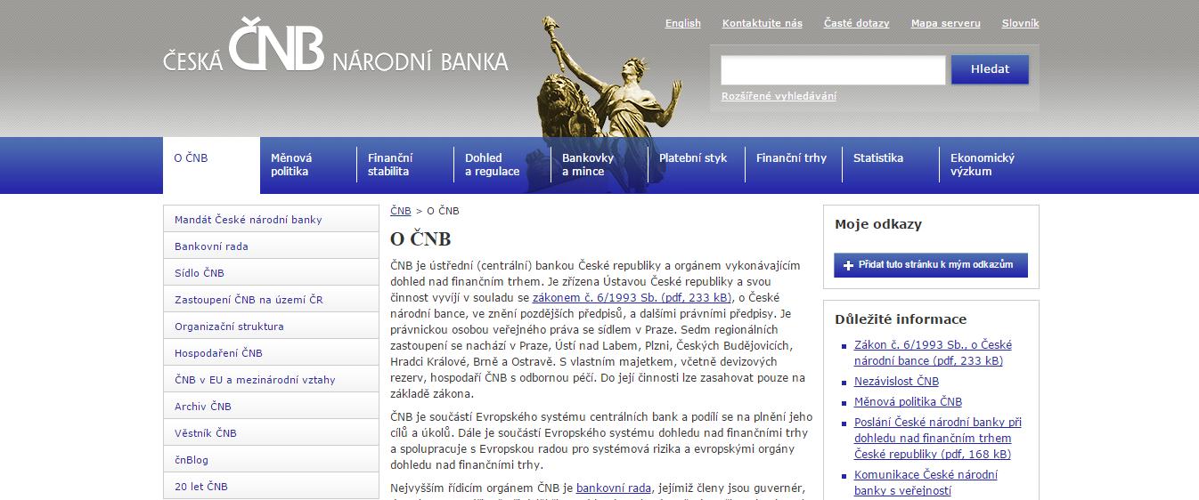 Každý broker na binární opce musí mít pro poskytování služeb v ČR povolení od ČNB