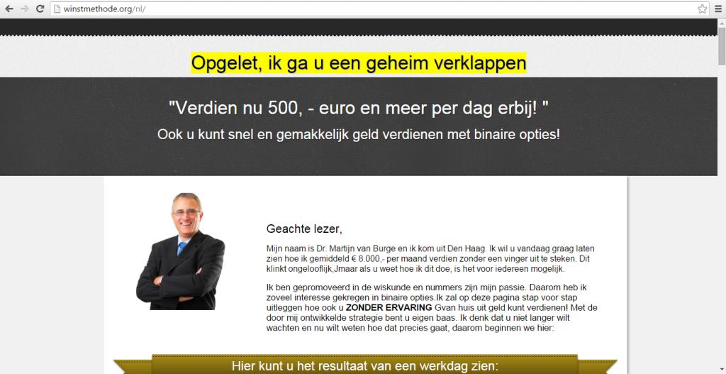 Nizozemská verze projektu Dr. Martijn van Burge