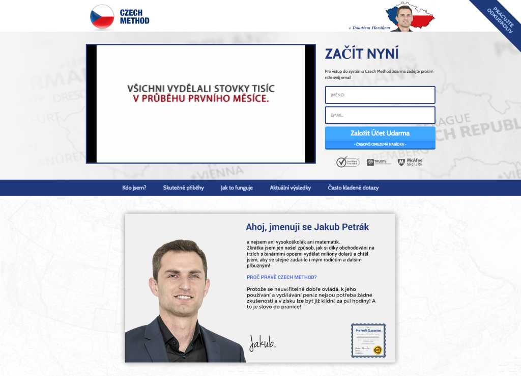 CzechMethod a Jakub Petrák