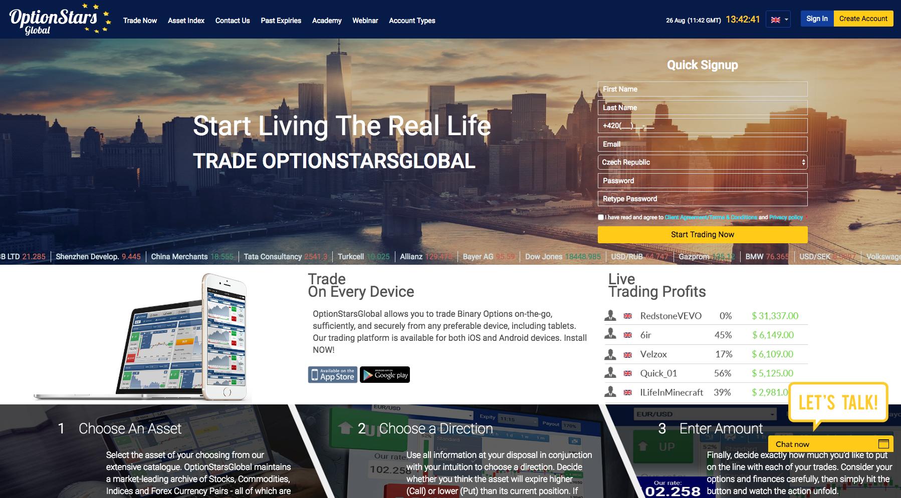 Option Stars Global